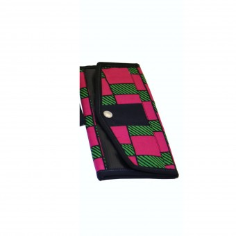Angaza Wallet (Rose/Black)