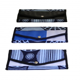 Angaza Wallet (Royal/Black)